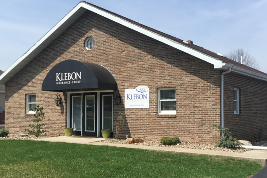 About Our Agency - Side View Of Klebon Insurance Office Building In Elysburg PA